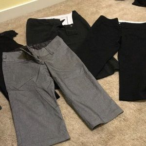Four pairs of Maurices brand capris
